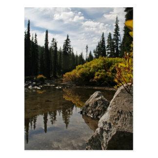 devils湖、くねり、オレゴン ポストカード