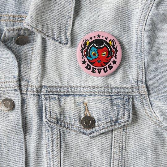 DEVUS Button badges 5.7cm 丸型バッジ