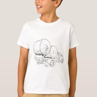 Dewezeのベールベッドのスケッチ Tシャツ