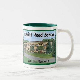 DeWittの道の小学校のマグ ツートーンマグカップ