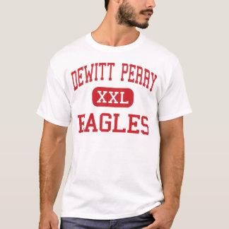 Dewittペリー-イーグルス-中間- Carrolltonテキサス州 Tシャツ