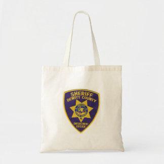 Dewitt郡の保安課 トートバッグ