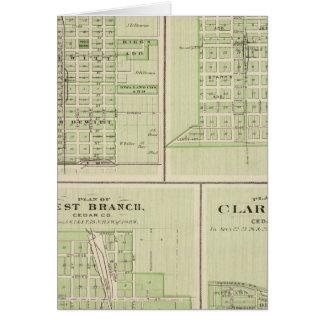 DeWitt、Tiptonの計画 カード