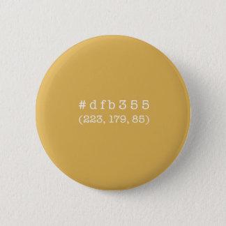 #dfb355円ボタン(白い文字) 缶バッジ