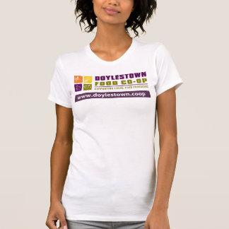 DFCの女性のレーサーの背部タンク Tシャツ