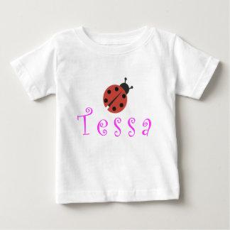 DFWのベビー-ロゴの背部 ベビーTシャツ