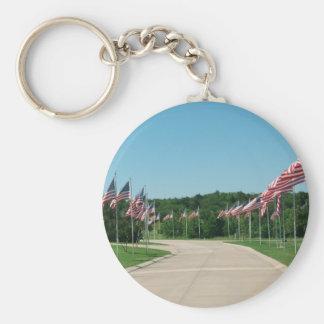 DFWの国立墓地Keychain キーホルダー