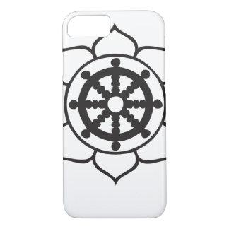 Dharmaの車輪のはす iPhone 8/7ケース