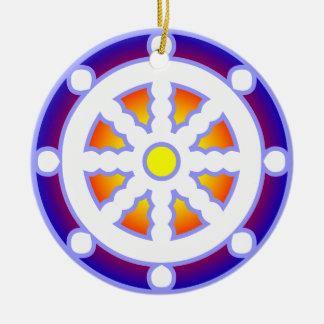 Dharmaの車輪 セラミックオーナメント
