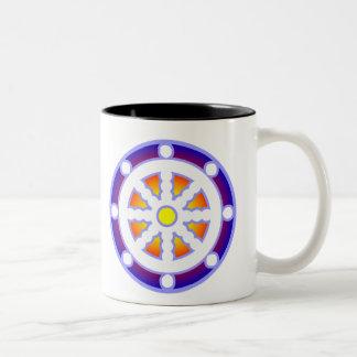 Dharmaの車輪 ツートーンマグカップ