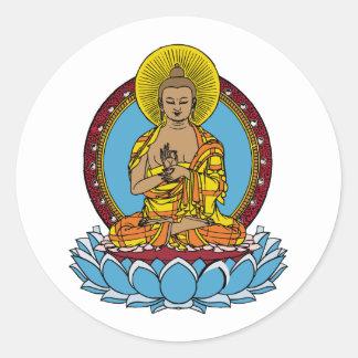 Dharmachakra仏 ラウンドシール