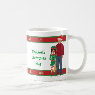 DHGのクッキー交換クリスマスのマグ コーヒーマグカップ
