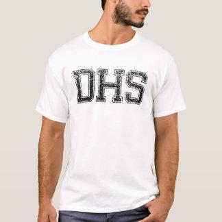 DHSの高等学校-動揺してなヴィンテージ Tシャツ