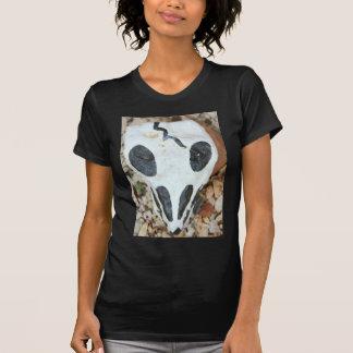 dia d losのmuertosの色彩の鮮やかなスカル tシャツ