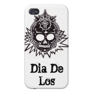 Dia de los Muertosのアズテック人 iPhone 4 Cover