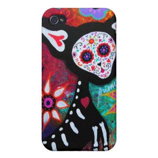 Dia de Los muertosのチワワ iPhone 4 ケース
