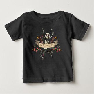 Dia de los Muertosのハローウィンパーティ のワイシャツ ベビーTシャツ