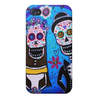 Dia de Los muertosの結婚式 iPhone 4/4S ケース