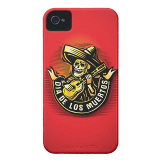 Dia de Los Muertosのiphone 4ケース Case-Mate iPhone 4 ケース