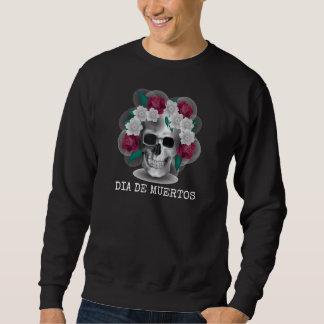 Dia de los Muertosハロウィン の長袖のワイシャツ スウェットシャツ