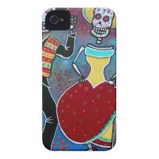 DIA DE LOS MUERTOS BAILARのマリアッチ Case-Mate iPhone 4 ケース