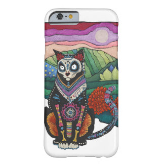 Dia de los Muertos CatのiPhone6ケース Barely There iPhone 6 ケース