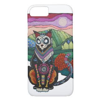 Dia de los Muertos CatのiPhone 7の場合 iPhone 8/7ケース