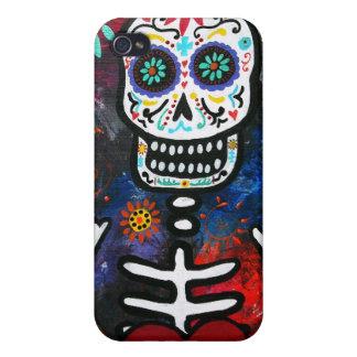 Dia de los Muertos Corazon iPhone 4/4S Case