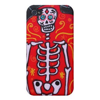 Dia de los Muertos Esqueleto iPhone 4/4S Cover