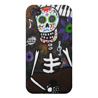 Dia de los Muertos Esqueleto iPhone 4 Cover