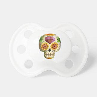 Dia de Los Muertos Mexicanの砂糖のスカル おしゃぶり