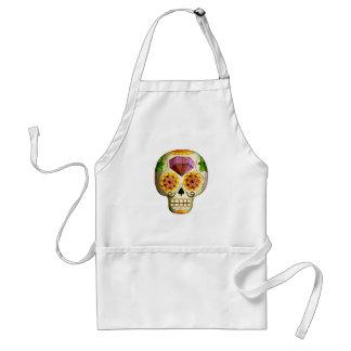 Dia de Los Muertos Mexicanの砂糖のスカル スタンダードエプロン