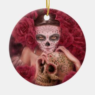 Dia de los Muertos Ornament セラミックオーナメント
