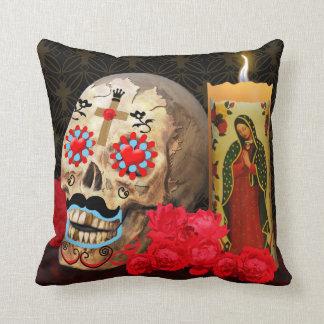 Dia de los Muertos Pillow クッション