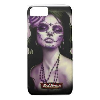 Dia De Los muertos Pinup iPhone 8/7ケース