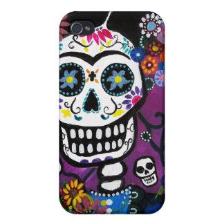 Dia de los Muertos Senorita iPhone 4 Cover
