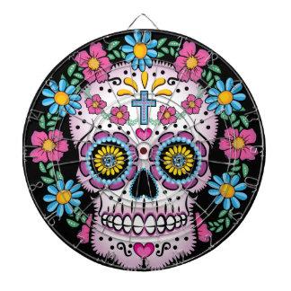 Dia de los Muertos Skull ダーツボード