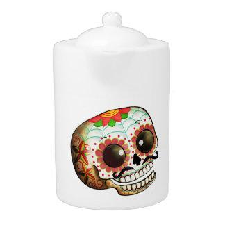 Dia de Los Muertos Sugarのスカルの芸術