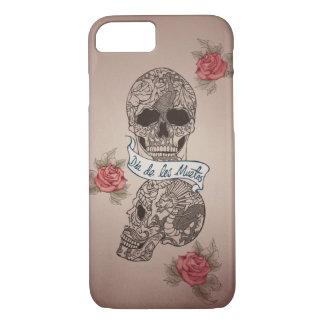 Dia De Los Muertos Sugarのスカル iPhone 8/7ケース