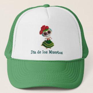 Dia de Muertos Mexicanの失敗の死 キャップ