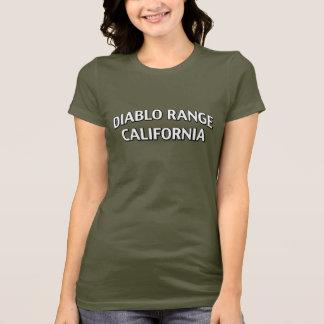 Diabloの範囲カリフォルニア Tシャツ