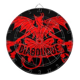 Diaboliqueの赤い悪魔の飛んだ鬼のSatanのゲーム ダーツボード