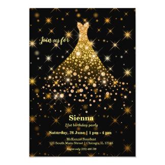 Diamond sparkling gown カード