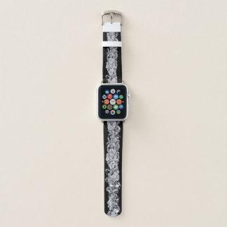 Diamonds on black background apple watchバンド