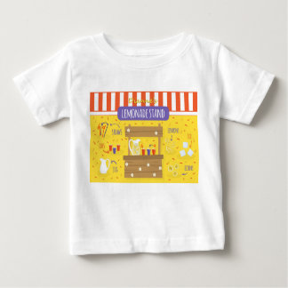 Dianneの❤️によるレモネード立場のベビーのティー ベビーTシャツ