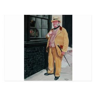 Dickensのキャラクター ポストカード