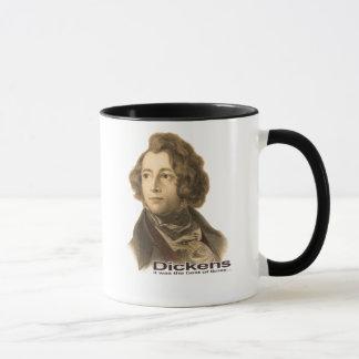 Dickensのセピア色のマグ マグカップ