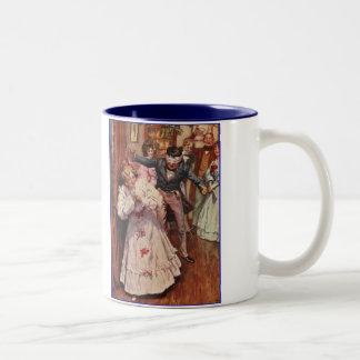 Dickensクリスマスキャロルのパーティー用のゲーム ツートーンマグカップ