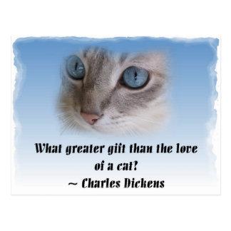 Dickens猫 ポストカード