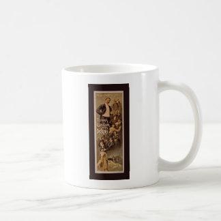 Dickens 1888年の演劇的なPoster~Throughロンドン コーヒーマグカップ